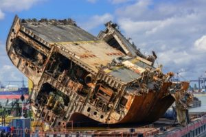 decommissioned cargo ships