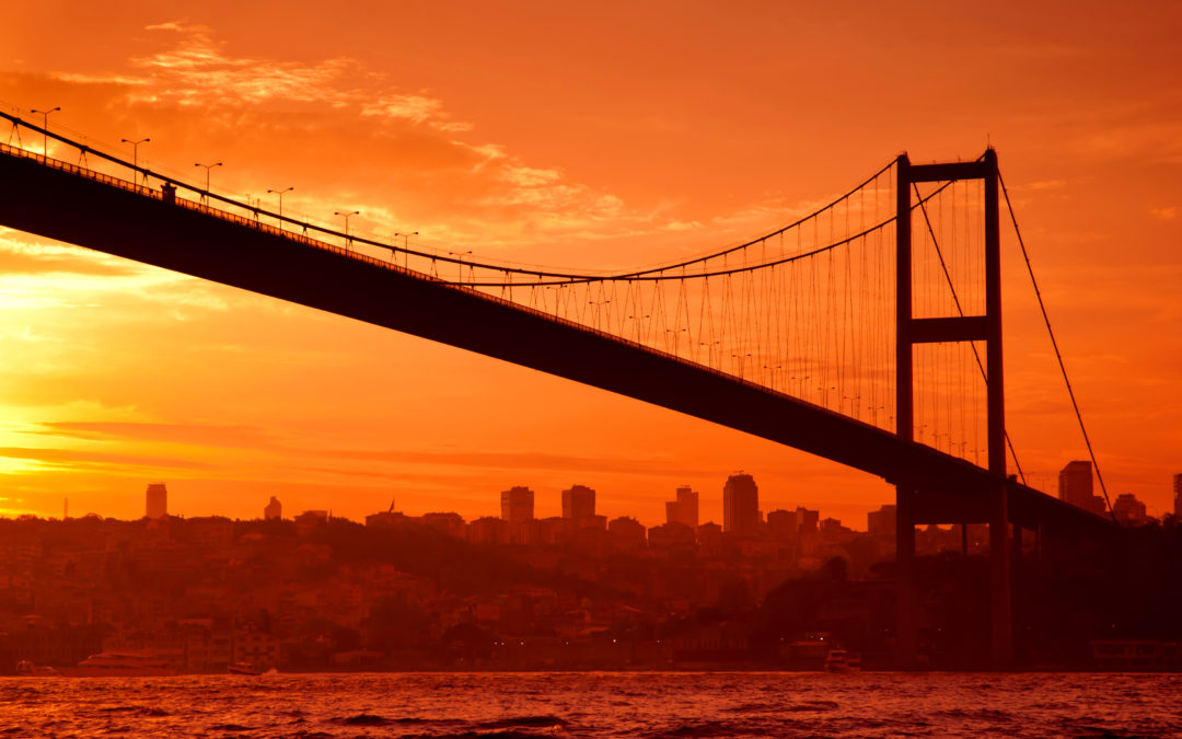 Cargo Ship Smashes into Mansion on the Bosporus Strait